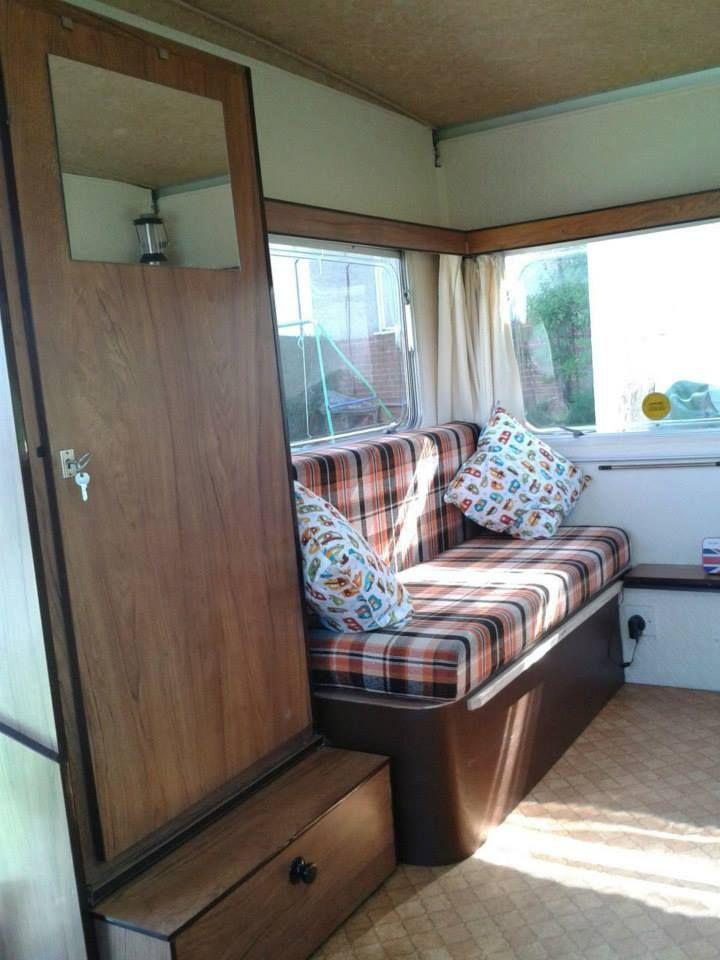 Esterel Folding Caravan Interior