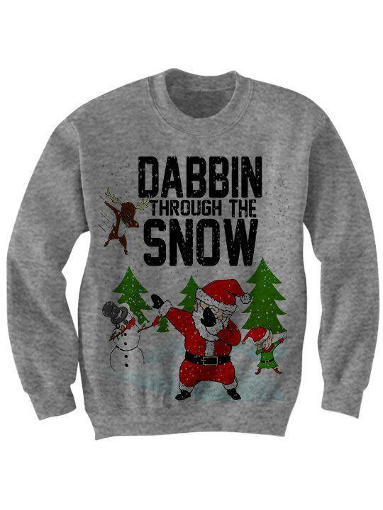 232cabc8 Dab Dab Santa ugly christmas sweater | Christmas sweaters (pretty ...