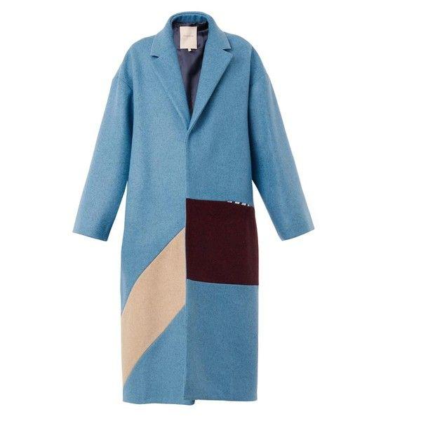 Winter Uniform: Wool Colorblock Coats on Polyvore