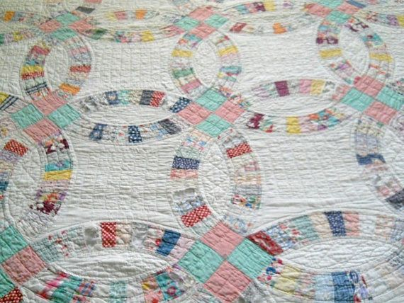 wedding ring quilt Google Search Quilts Pinterest Double