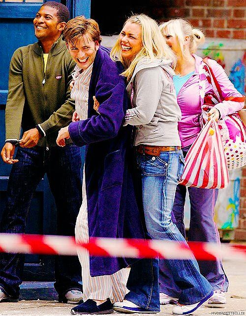 Doctor Who Dizisinin Birbirinden Harika Kamera Arkası