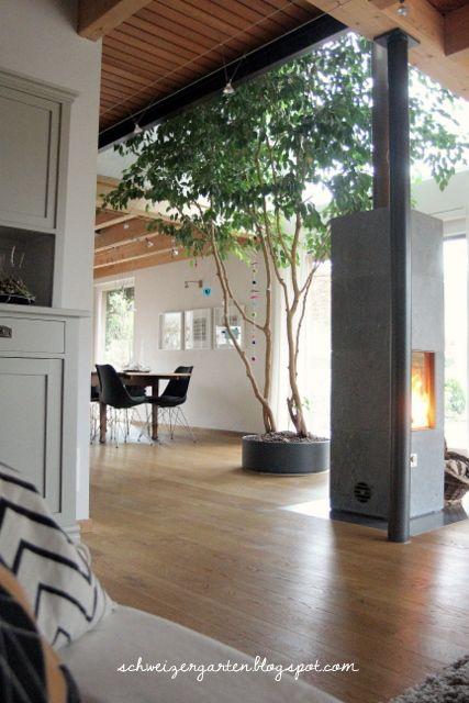 ein schweizer garten: wohnzimmer | haus & wohnung | pinterest ... - Wohnzimmer Mit Galerie Modern