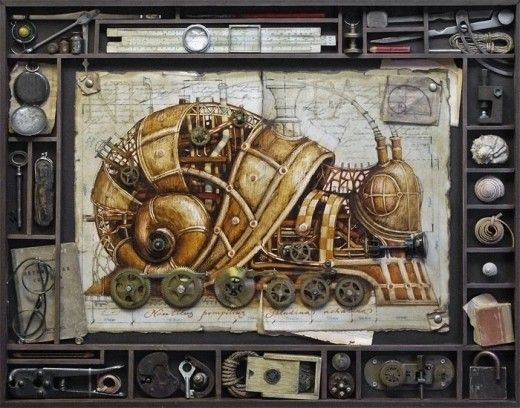 Steampunk Zoo (click through for tons of different animals!)