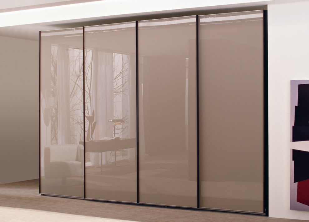 Bedroom glass cupboard designs fresh and modern - Bedroom cabinets with sliding doors ...
