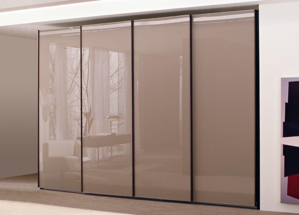 Lacquered Glass Sliding Door Wardrobe Doors Sliding Door Wardrobe Designs Cupboard Design