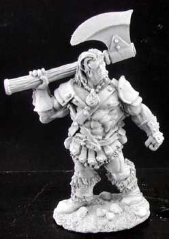 Adventuring Barbarian w/ Axe by Reaper Miniatures 02924
