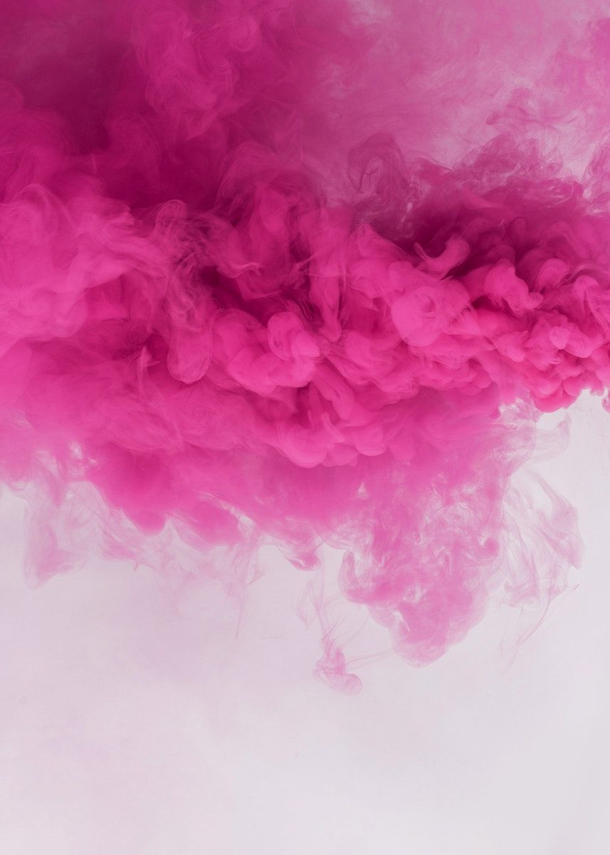 Pink Smoke Effect On A White Background Free Image By Rawpixel Com Roungroat Pink Smoke Pink Tumblr Aesthetic Colored Smoke