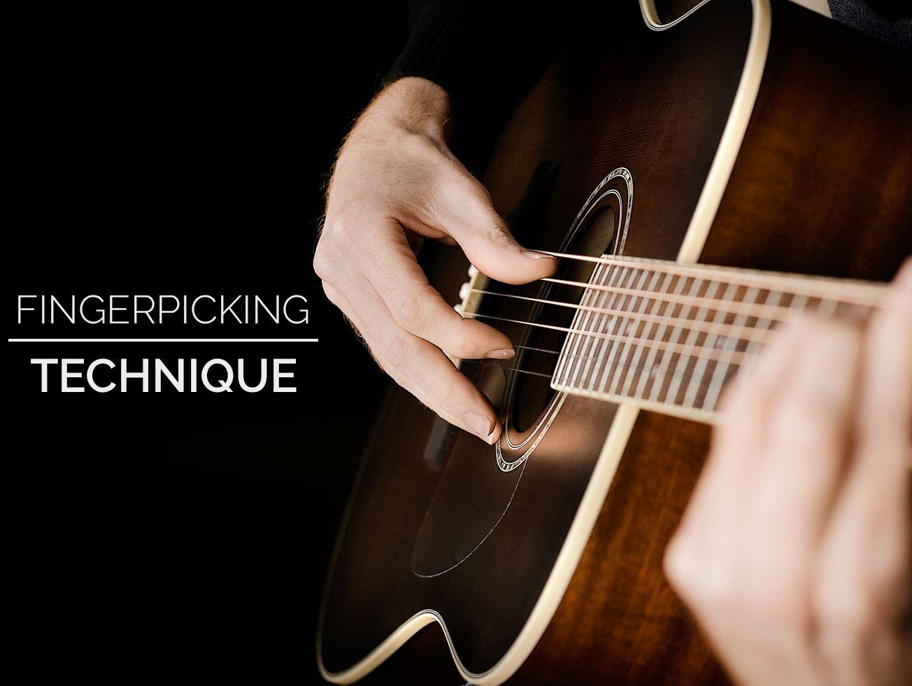Fingerpicking Technique Guitar Lesson World Guitar Strumming Best Acoustic Guitar Guitar