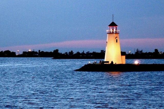 A lighthouse must actually serve as an aid to navigation. Description from…