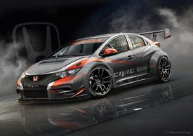 Sporty Honda Civic
