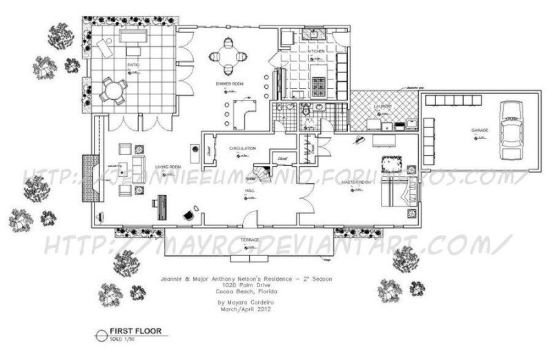 Floor plan for major anthony nelson 39 s house i dream of for Nelson home plans