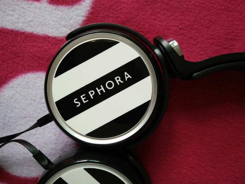 Sephora headphones Custom OEM job for Sephora Sephora