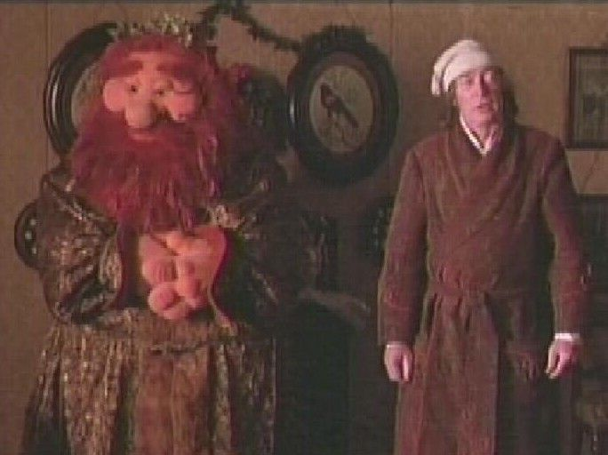 Muppet Christmas Carol Ghost Of Christmas Present.Pin On Disney The Muppet Christmas Carol