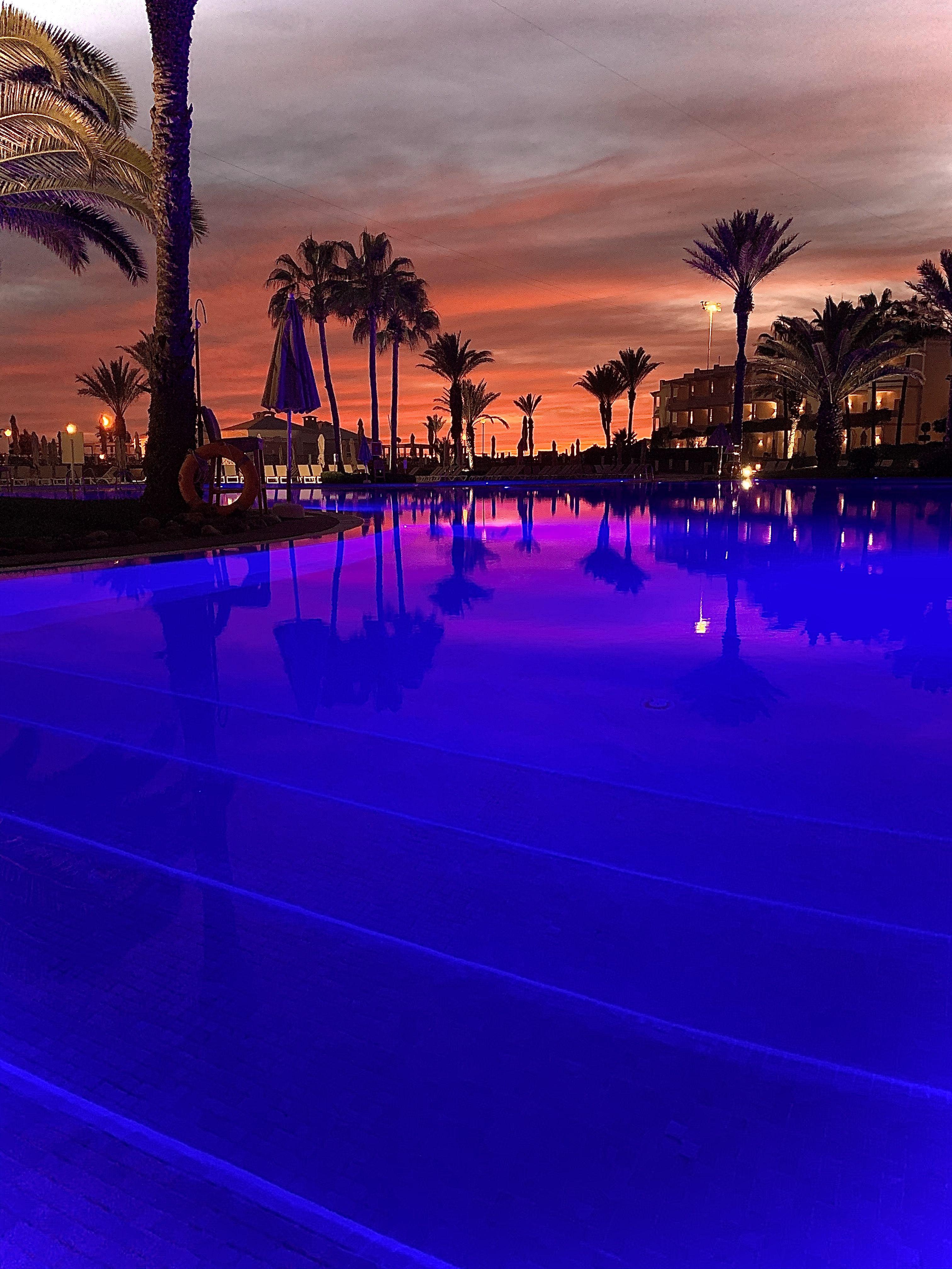 Sunset At Iberostar Founty Beach Hotel