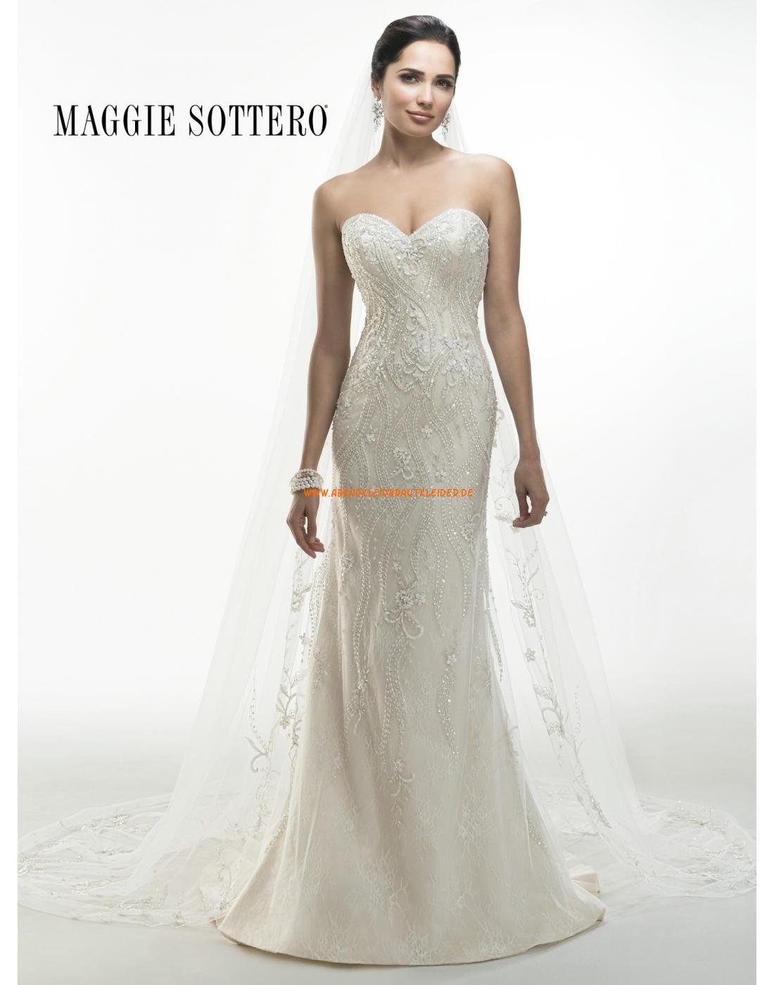 Maggie Sottero A-linie Elegante Schicke Brautkeider aus ...