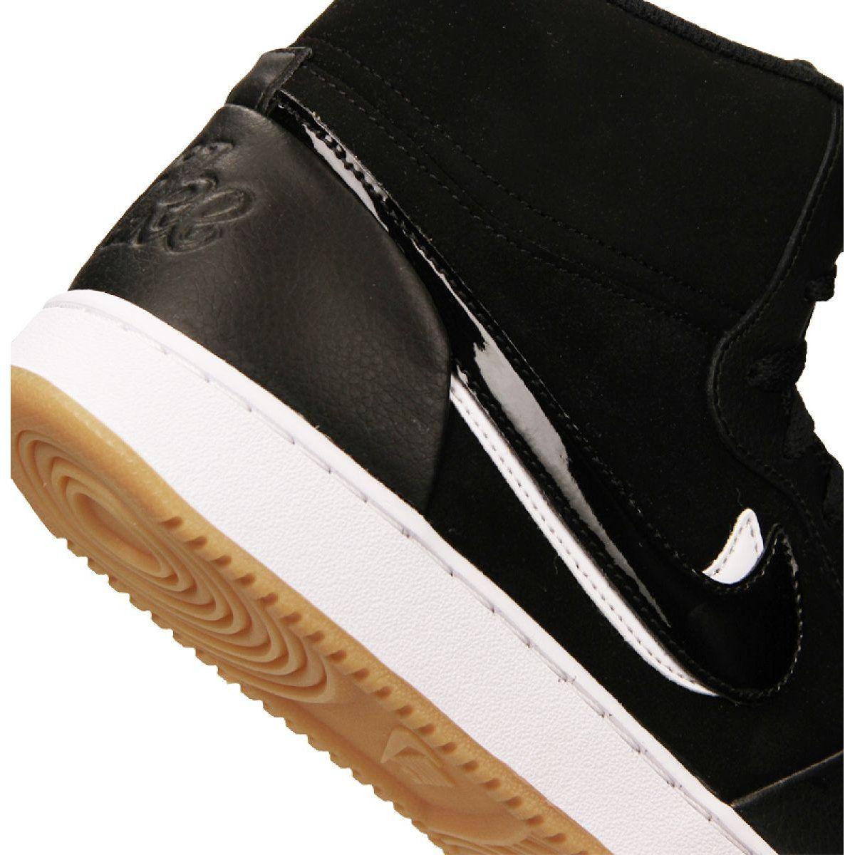 Buty Nike Ebernon Mid Prem M Aq1771 002 Czarne Nike Black Shoes Mens Nike Shoes