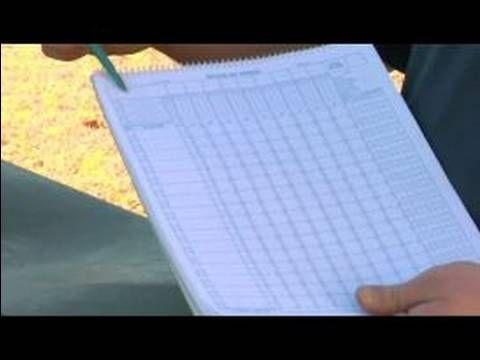 How To Keep Score In Baseball  How To Use A Baseball Scorecard