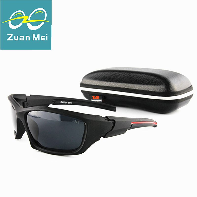 482f4ee58 Zuan Mei Marca Esporte Óculos De Sol Dos Homens Polarizados Pesca Óculos de  Sol para Os Homens Sunglas Mulheres Oculos de sol Feminino Gafas de Sol