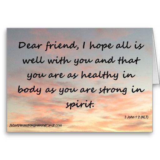 Scripture Birthday Card - 3 John 1:2