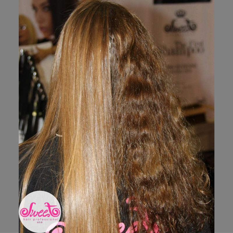 The FIRST Shampoo can turn your frizzy or curly hair into long, smooth and beautiful hair!