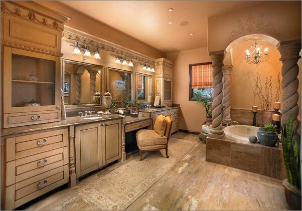Tuscan Bathroom Design Ideas  Home Decor & Designing  Pinterest Simple Tuscan Bathroom Design Decorating Design