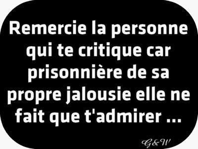 Remercie La Personne Qui Te Critique Car Prisonnière