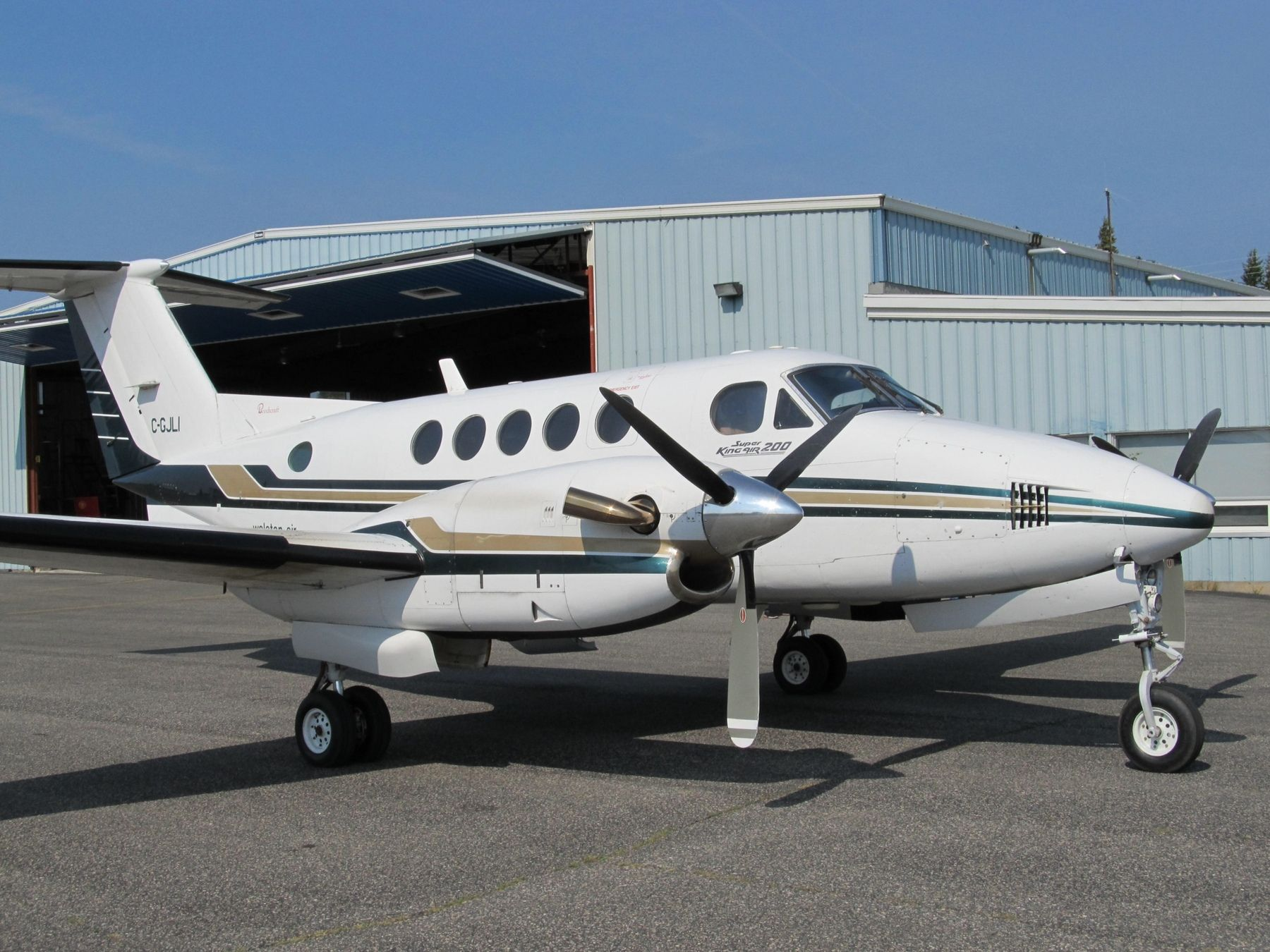 1978 Beechcraft King Air 200 for sale in Canada => http