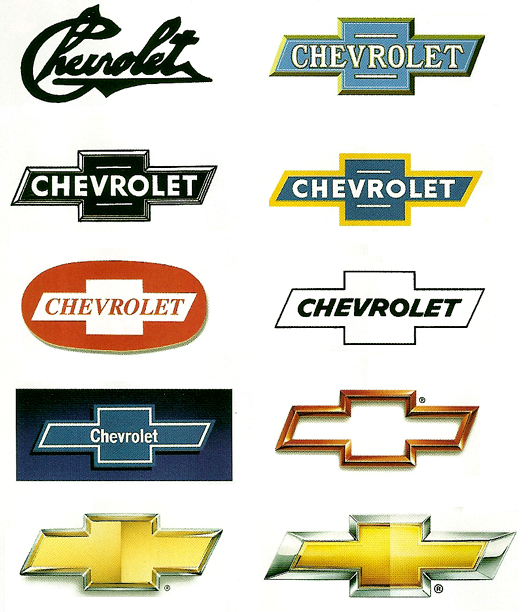 cheverolet logo history evolution- can our logo evolve into a single image in the future?