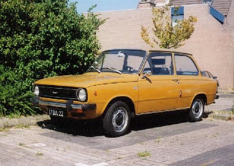 The DAF 66: I actually drove this one for about 6 months (gift from my grandfather)