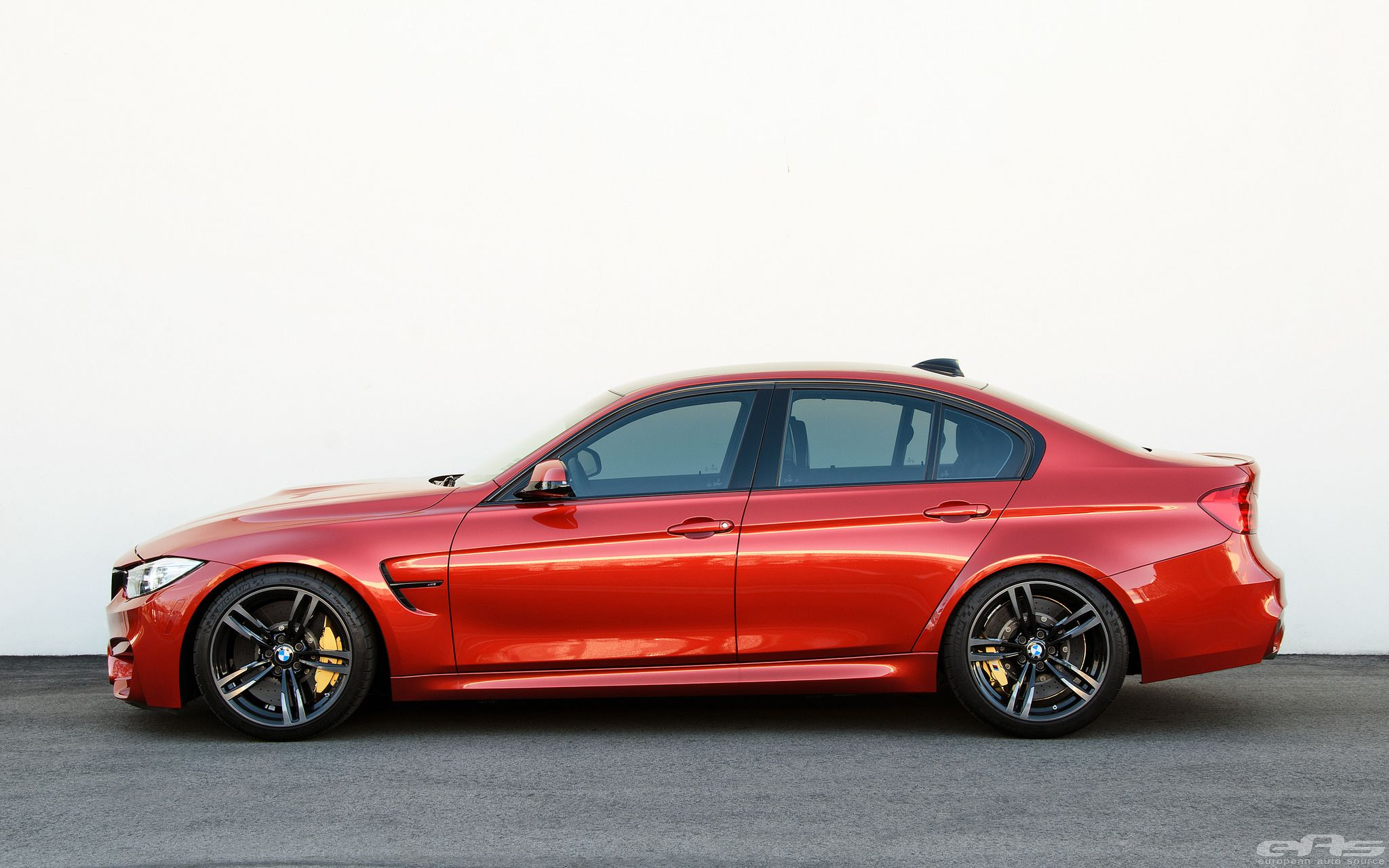 M3 F80 In Sakhir Orange On H R Springs With 15mm Front And 12mm Rear