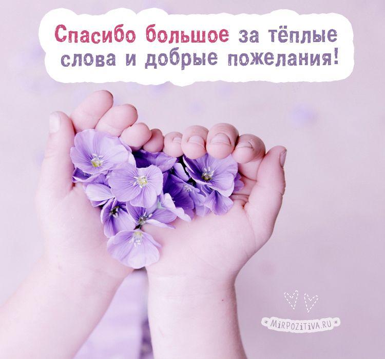 спасибо большое за теплые слова и добрые пожелания ...