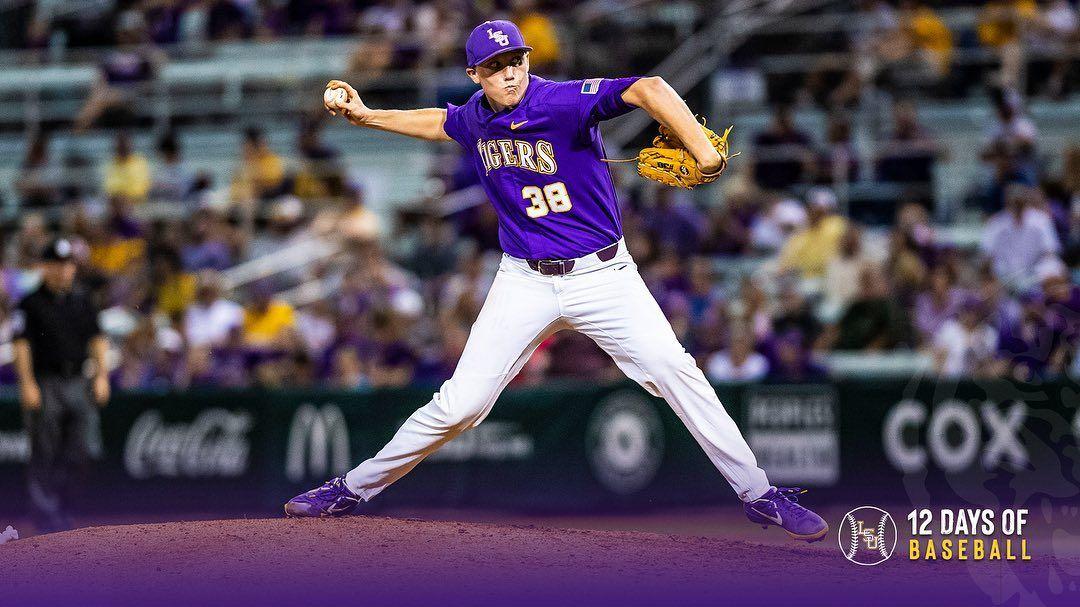 Lsu Baseball On Instagram Day 1 0 Zack Hess38 Totaled 82 Strikeouts Through 19 Games Last Season Lsu Baseball Lsu Baseball