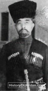 الملك عبد الله الأول بن الحسين و هو يرتدي الزي الشركس عام 1938 Ibn Ali Arab Revolt History