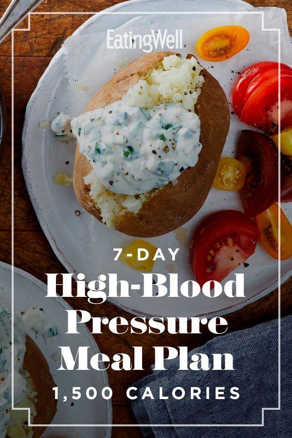500 calorie a day diet bllod pressure