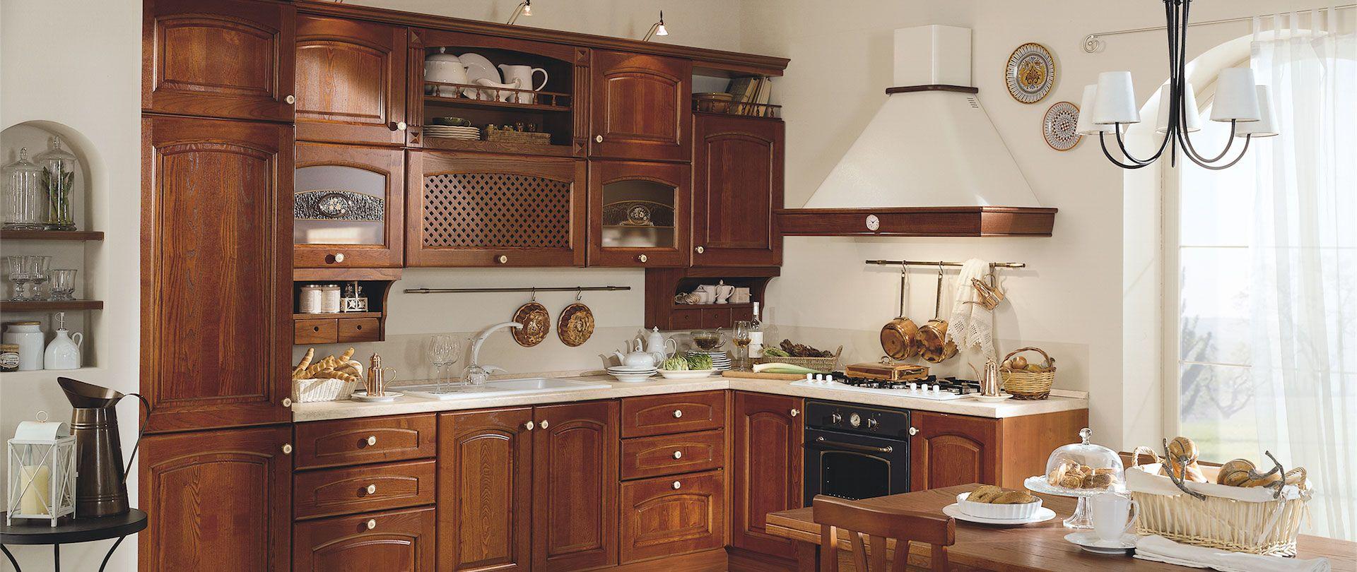Cucina Bianca E Ciliegio cucina in ciliegio | cucina in ciliegio, cucine, design