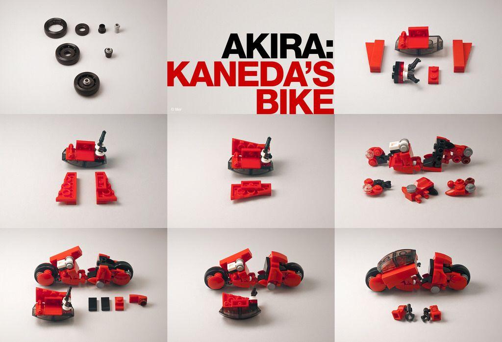 Akira Kanedas Bike 12 Building Instructions Diy Pinterest