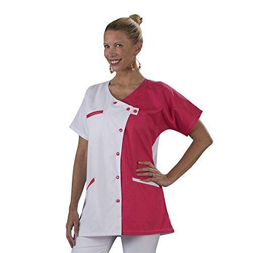 Tablier chasuble blouse chasuble col chemisier blanc Parement Taille unique Lavage Machine ou industriel Taille unique Lavage Machine ou industriel