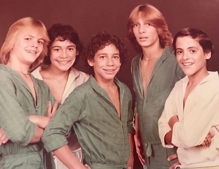Grupo Menudo Menudo Banda Cantantes Famosos Luis Miguel Joven