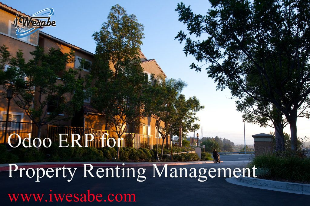 Odoo ERP for Property Renting Management! For Demo Visit