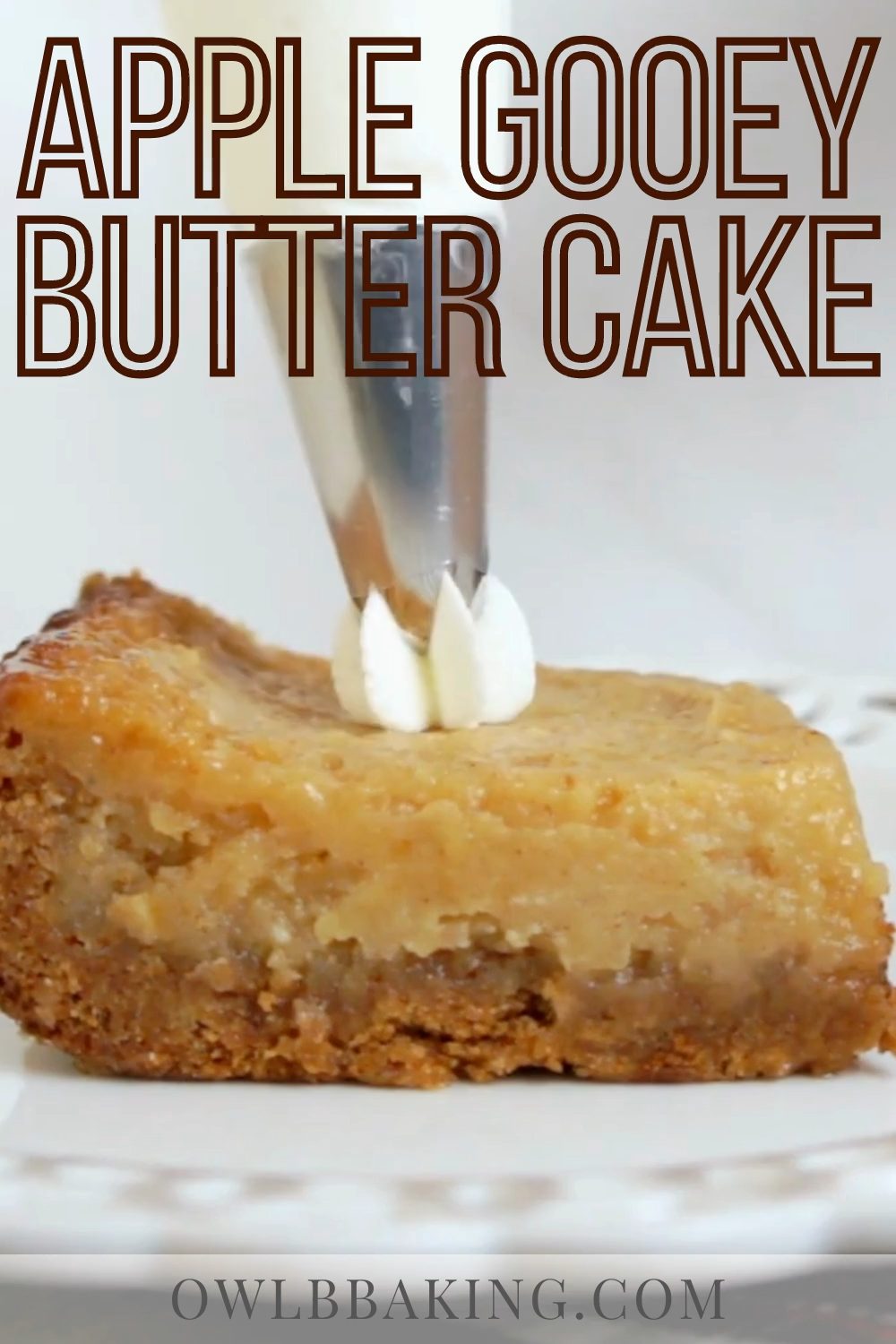 Apple Gooey Butter Cake -   18 thanksgiving desserts for a crowd ideas