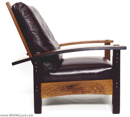 Exceptionnel Check Out This Morris Chair By Whit McLeod. Made With Recycled Wine  Barrels:)