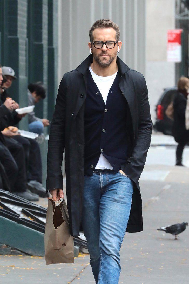 Ryan Reynolds Looks Devilishly Handsome After Destroying Wife Blake - Moda-para-hombres-maduros