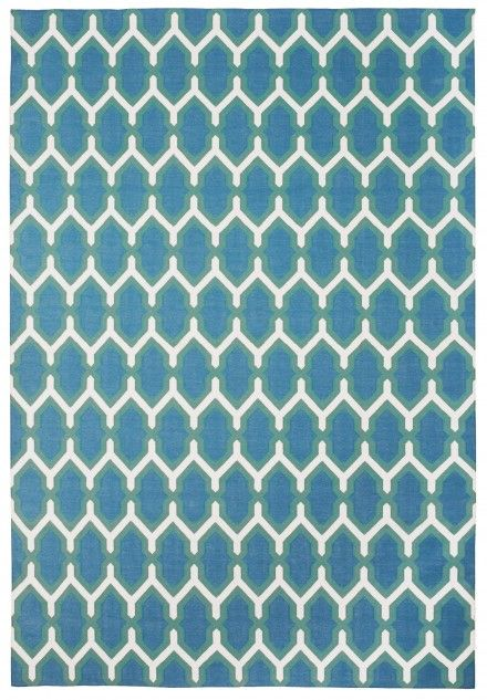 Jali Green Amp Blue By The Rug Company Lakehouse Rugs