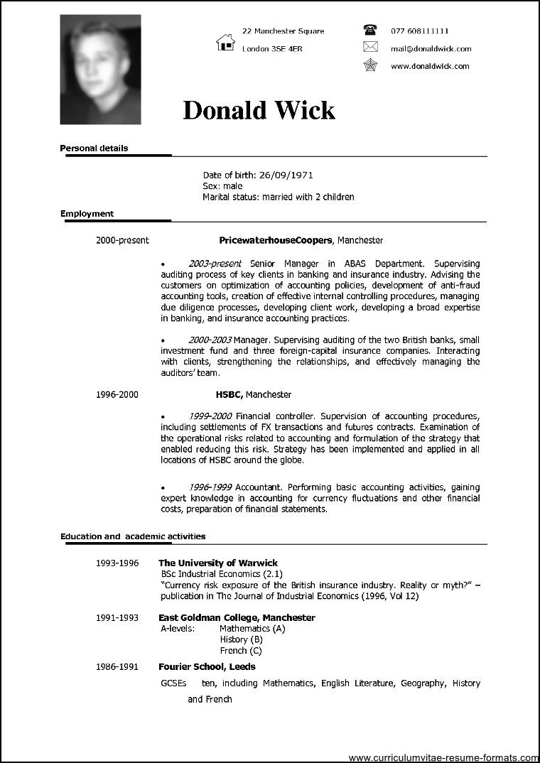 Resume Templates Doc Resume Templates Doc And Builder Professional Template Free