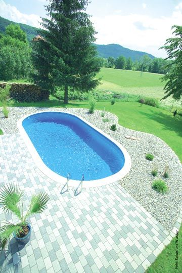 Oval Pool Pool Party Pinterest Piscinas Vestidor