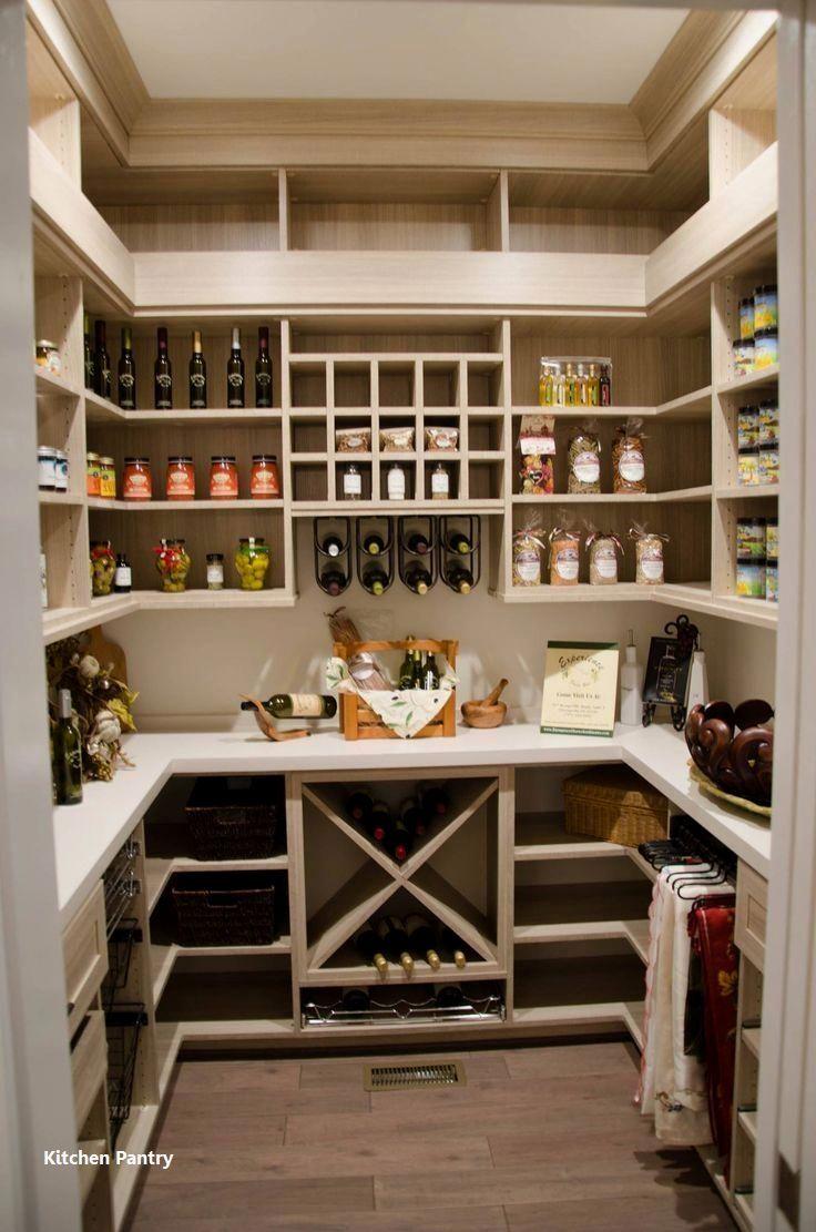 New Kitchen Pantry Ideas   Kitchen pantry design, Pantry design ...