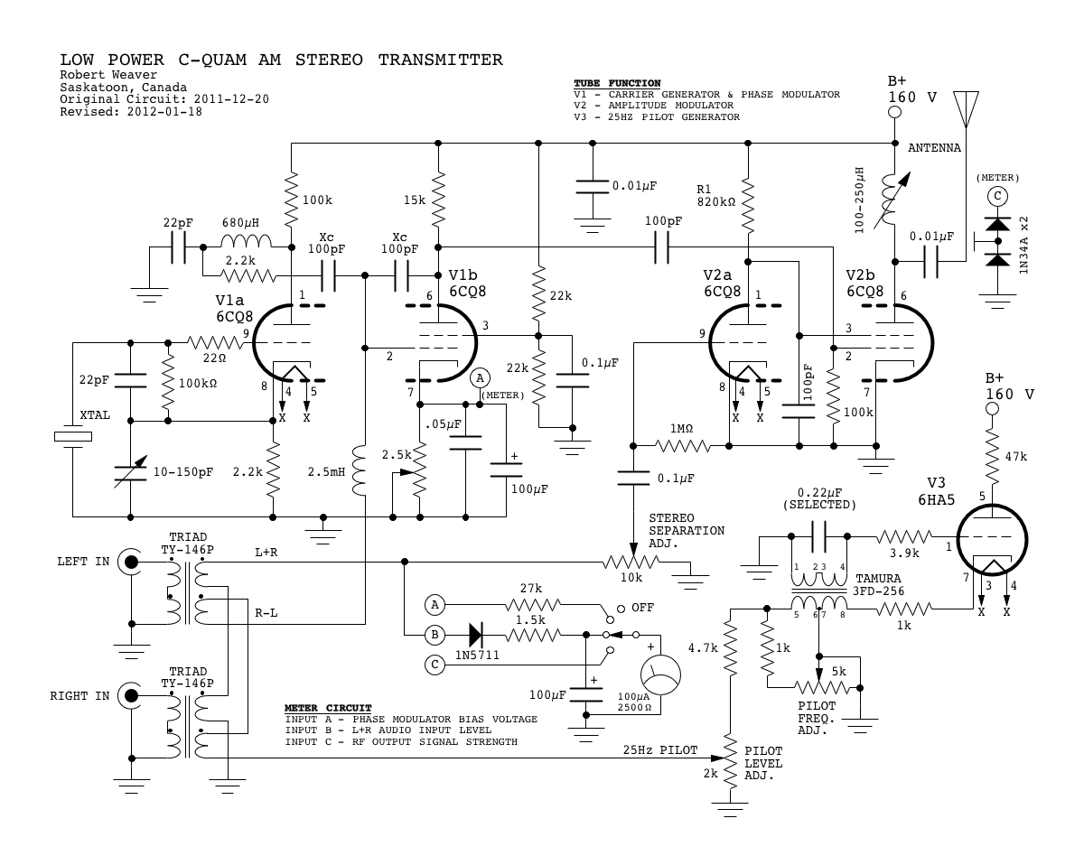 Am Radio Transmitter Circuit Diagram Schematics F M Electronic Wire Data Schema U2022 Fm
