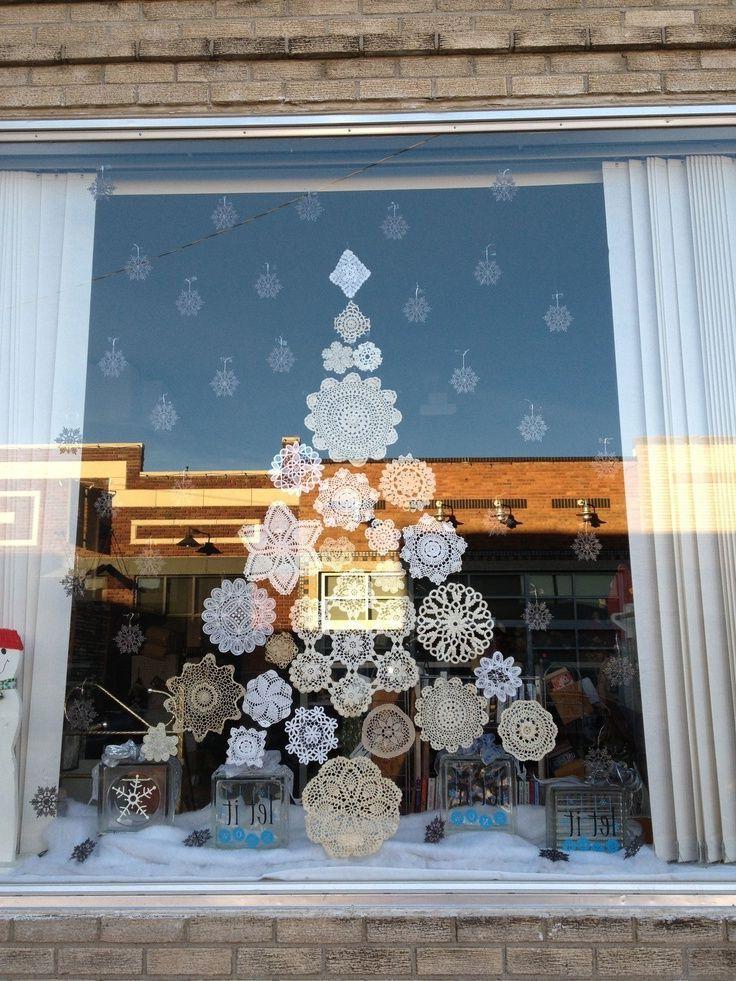 Deco fenêtre noël ▷ 50 supers idées pour décorer vos fenêtres !