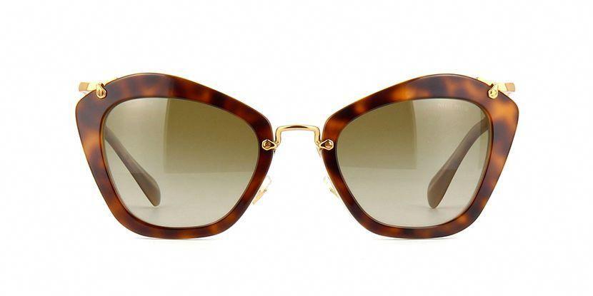 8cea37650811 Miu Miu MU10NS HAH1X1 Havana Sunglasses | Pretavoir #MiuMiu | Miu ...