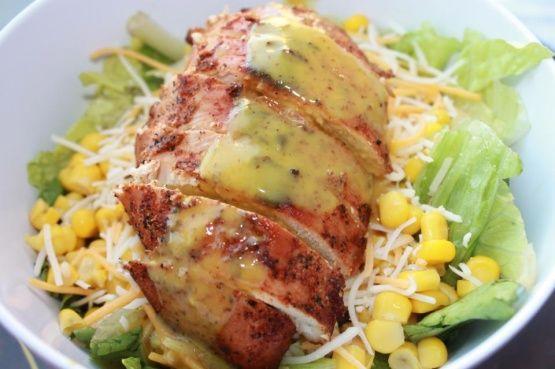 Copycat Applebee's Low-Fat Blackened Chicken Salad Recipe - Food.com